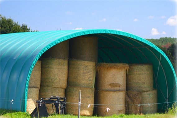 Multi-abri de stockage largeur 9.60 m