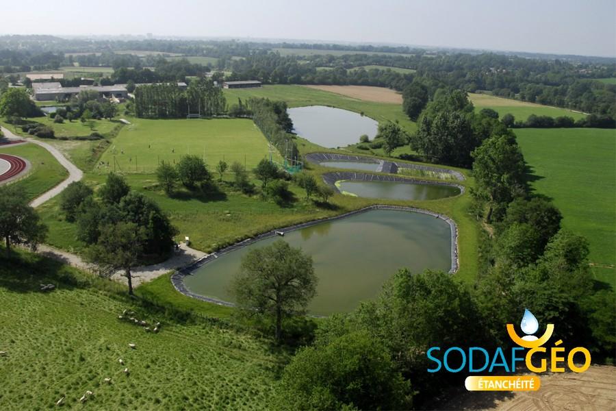 B che bassin epdm mm en rouleau solutec agri for Bache bassin