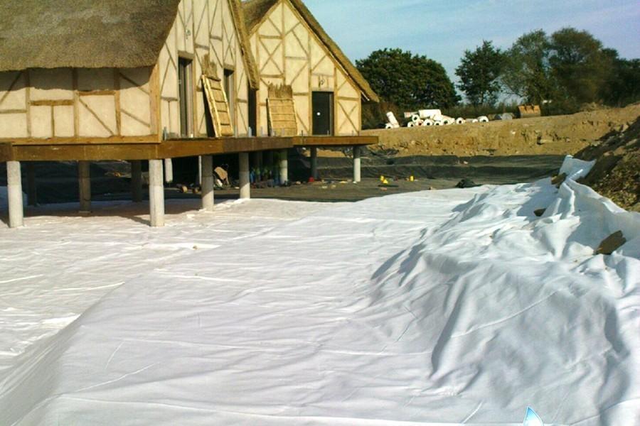 Feutre g otextile 200 400 g m solutec agri for Feutre geotextile bassin