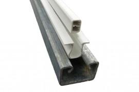 Barre à clips équipée longueur 2.50 m