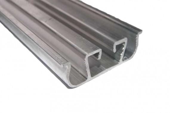 Barre à clips triple équipée longueur 2 m
