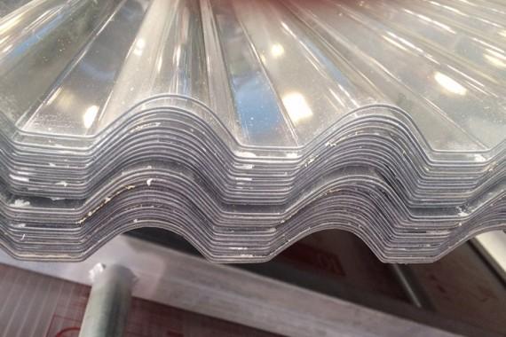 Plaque PVC ondulée