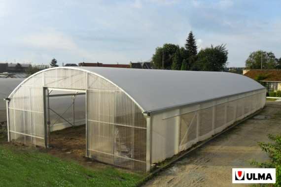 Serre tunnel pro largeur 9.60 m Optimum